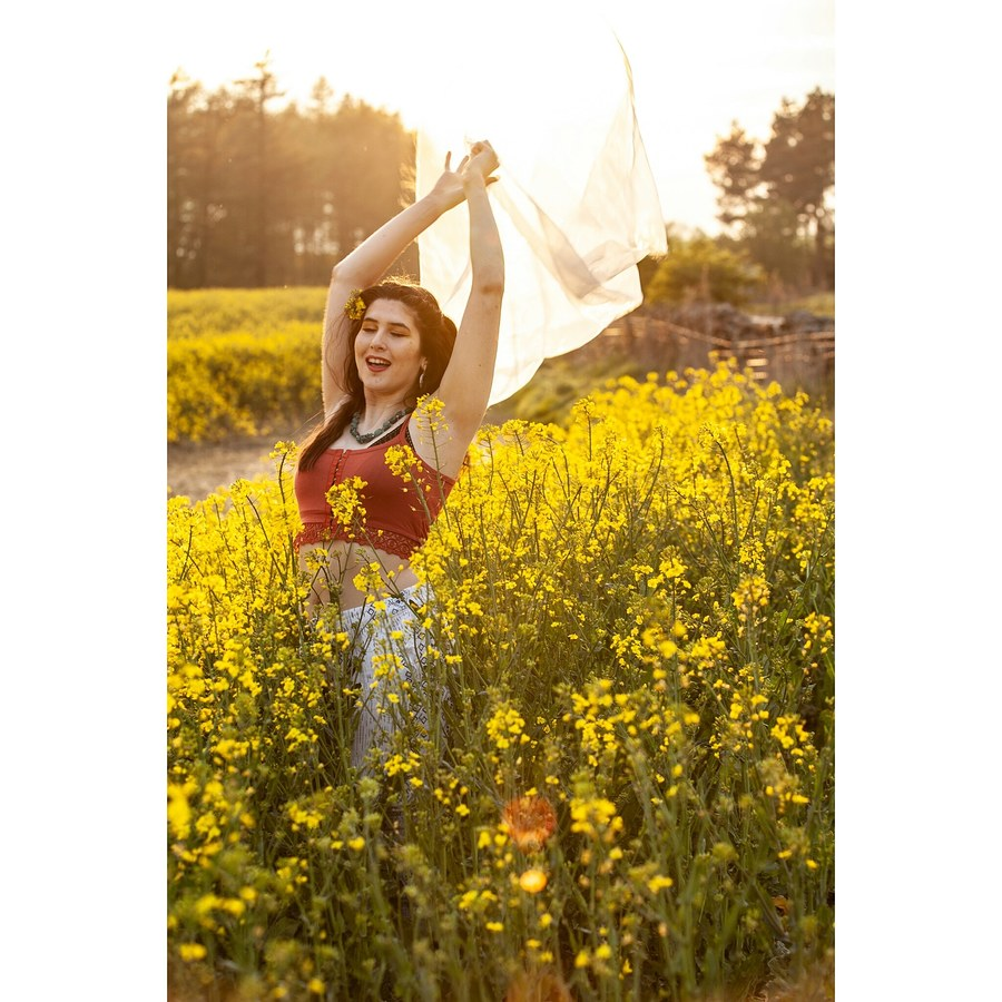 Rape seed flowers / Photography by mirador photography, Model Luisa-Maria model / Uploaded 27th April 2019 @ 10:01 PM