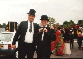 Laurel and Hardy / Makeup by Latex Head / Uploaded 9th February 2012 @ 08:04 PM