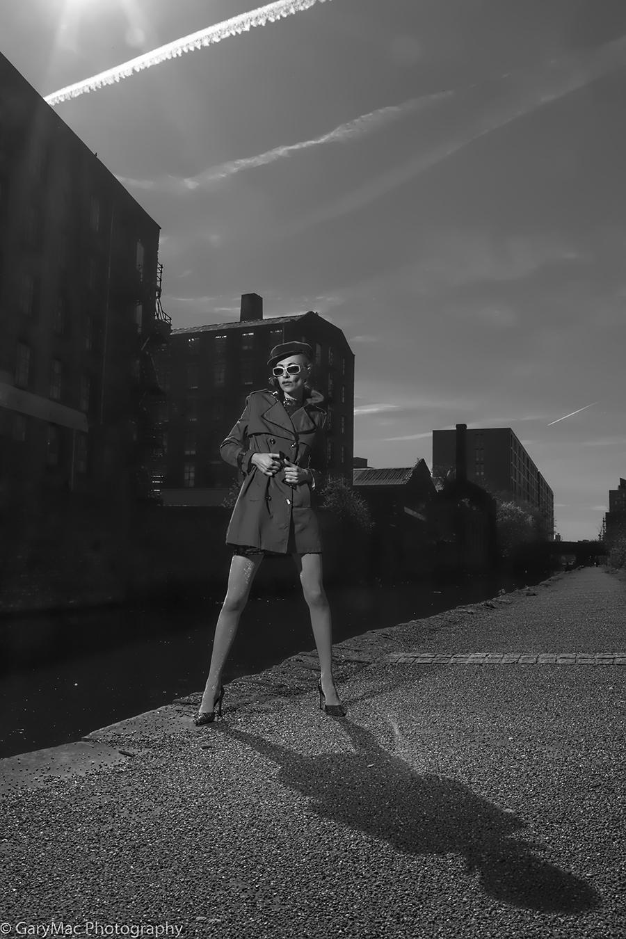 Posing Canal Side / Photography by GaryMac Photography, Model Zara Watson, Taken at Rainbow Studio / Uploaded 26th March 2017 @ 07:55 AM