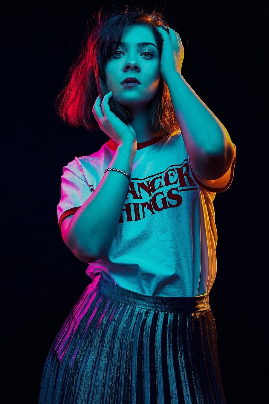 Stranger Things / Photography by David Abbs, Model Brogan Alexandra, Taken at Studio 33 / Uploaded 1st October 2018 @ 08:50 PM
