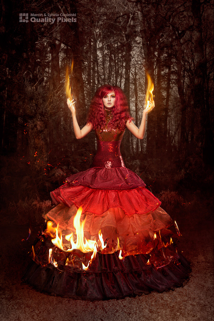 Catching Fire / Photography by Quality Pixels, Model Bad Dolly, Stylist Quality Pixels / Uploaded 28th February 2014 @ 09:41 PM
