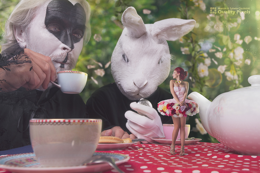 Coco in Wonderland / Photography by Quality Pixels, Models Bad Dolly, Models Horace Silver, Makeup by Eszter Hercsik, Post processing by Quality Pixels, Hair styling by Eszter Hercsik / Uploaded 27th December 2015 @ 10:44 AM