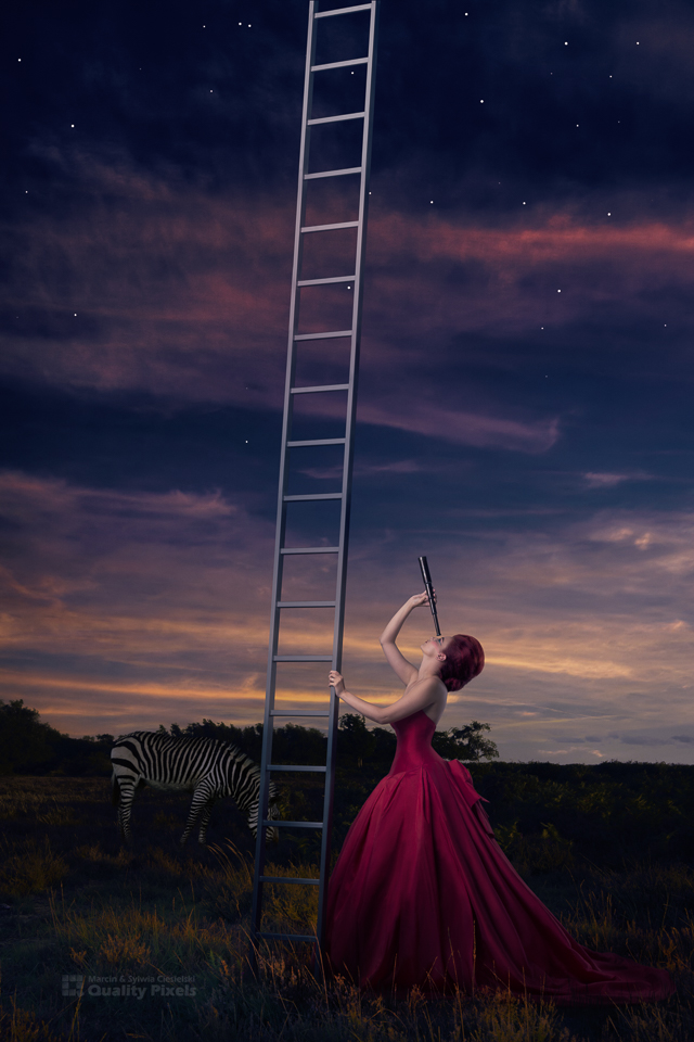 Up, up in the sky / Photography by Quality Pixels, Model Bad Dolly, Makeup by Eszter Hercsik / Uploaded 15th September 2015 @ 11:10 AM