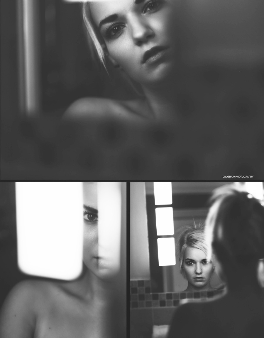 Dark Reflections / Model Bad Dolly / Uploaded 1st October 2016 @ 01:49 PM