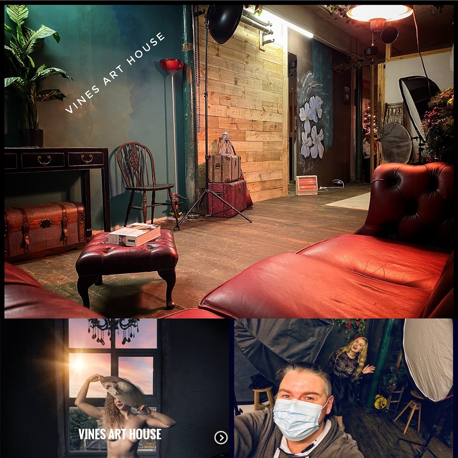 First look / Taken at Vines Art House / Uploaded 3rd December 2020 @ 04:27 AM
