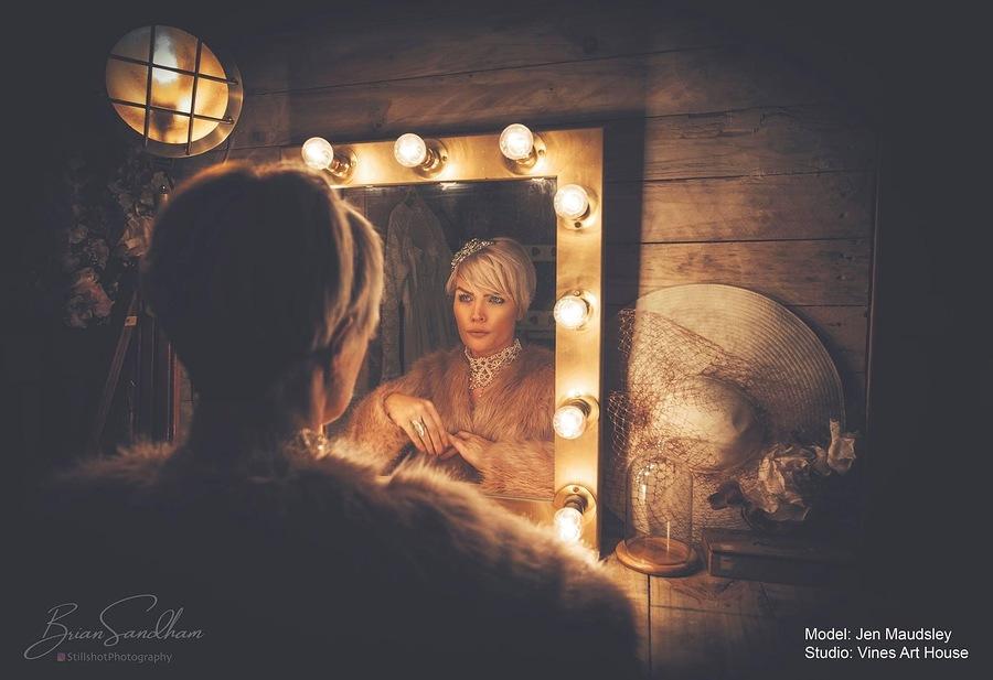 Studio's make up area. / Taken at Vines Art House / Uploaded 20th January 2021 @ 10:02 AM