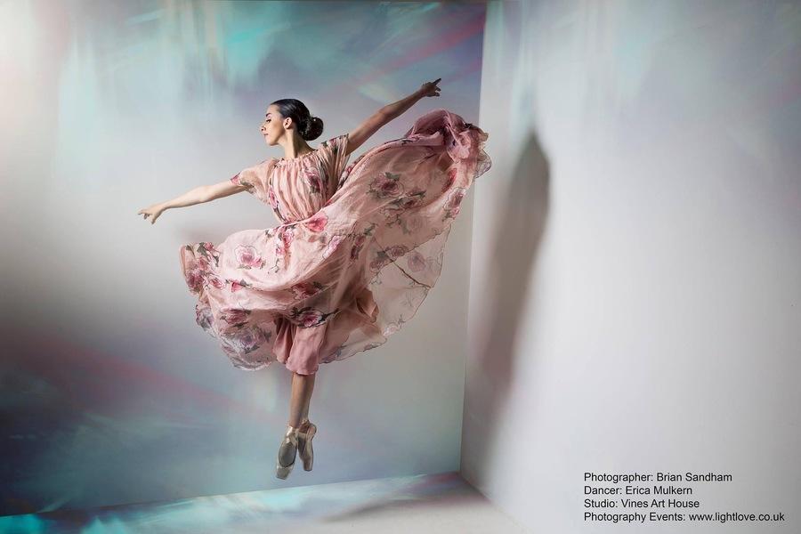 Erica Floats  / Model Ballerina Erica Mulkern, Taken at Vines Art House / Uploaded 28th August 2021 @ 08:21 PM