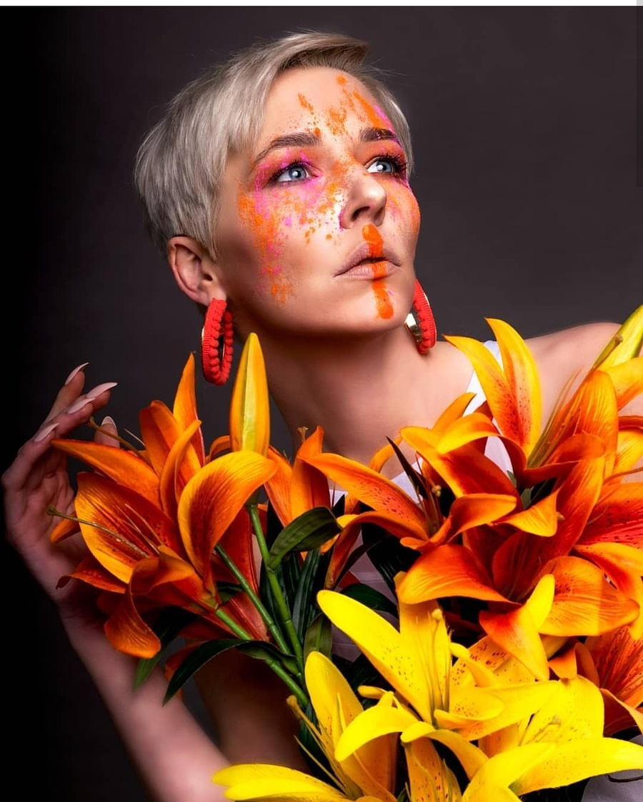 Colors / Photography by Gaurav Khapekar Photography, Model Amie Boulton, Makeup by Beautywithin, Post processing by Gaurav Khapekar Photography, Taken at Inspire Studios Ltd / Uploaded 26th January 2019 @ 08:59 AM