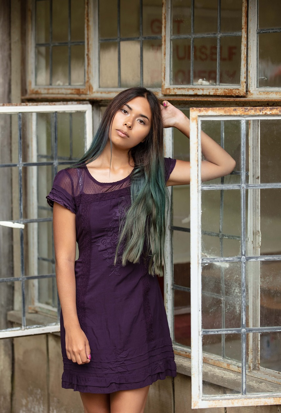 Rusted windows / Photography by Gus Gregory, Model Jaime-lee Burke / Uploaded 24th December 2018 @ 03:37 PM