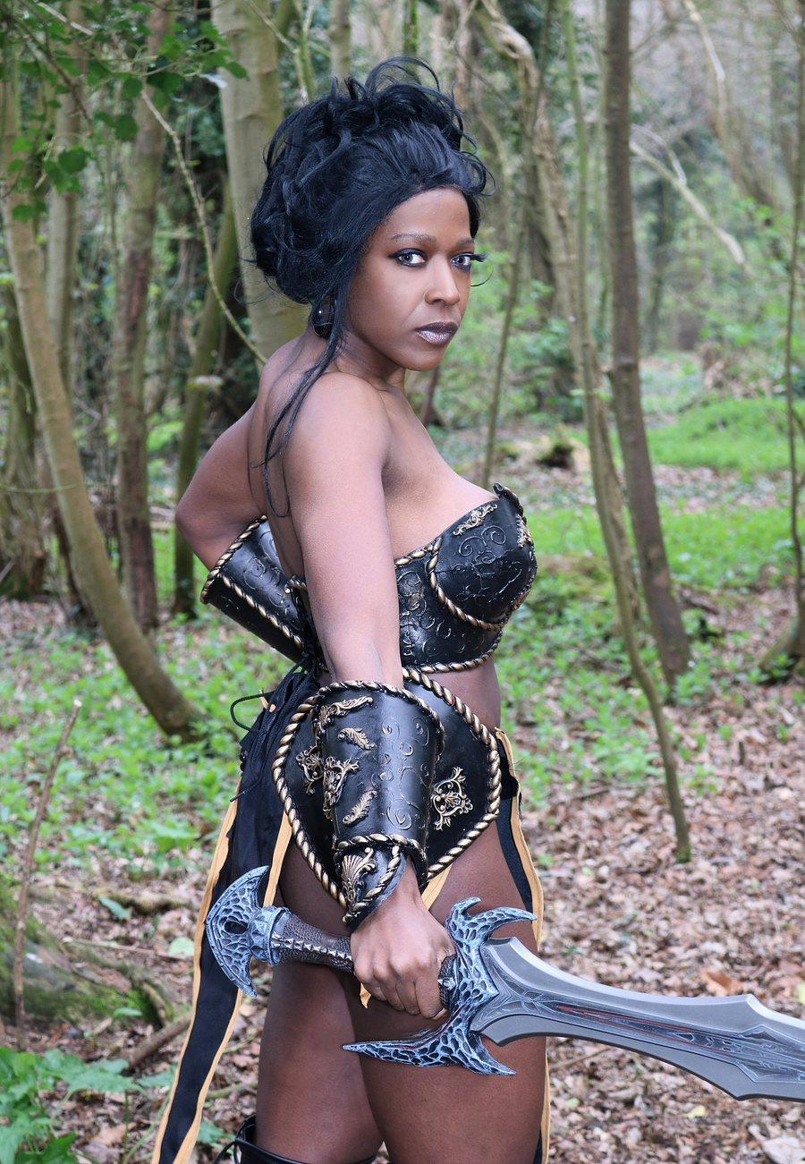 Avenger / Photography by Draken, Model Miss Purple, Designer Draken / Uploaded 4th April 2019 @ 02:46 PM