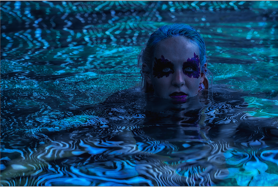""" Underwater Love "" / Model Daisy Bright, Makeup by DaisyBrightMakeUp / Uploaded 2nd May 2018 @ 09:00 AM"
