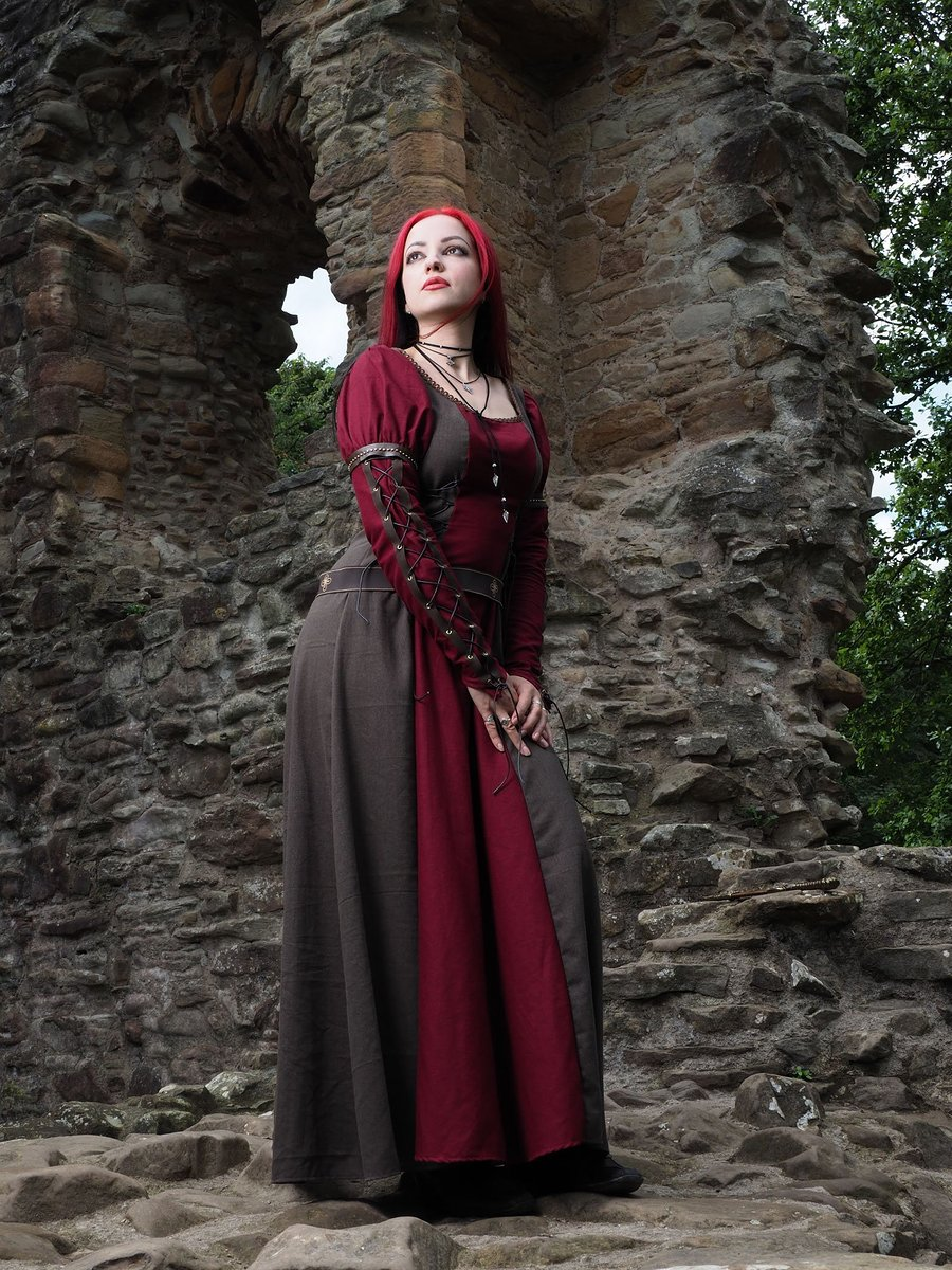 Froya Viking dress / Photography by Johnty, Model Leonie Snow / Uploaded 5th May 2019 @ 03:47 PM
