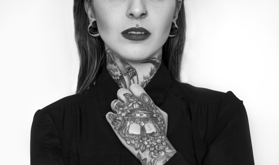 Tattoos and piercings / Photography by Alis Volat Photography, Model Jesse Roze Tattooed Model, Post processing by Alis Volat Photography / Uploaded 20th September 2018 @ 10:49 PM