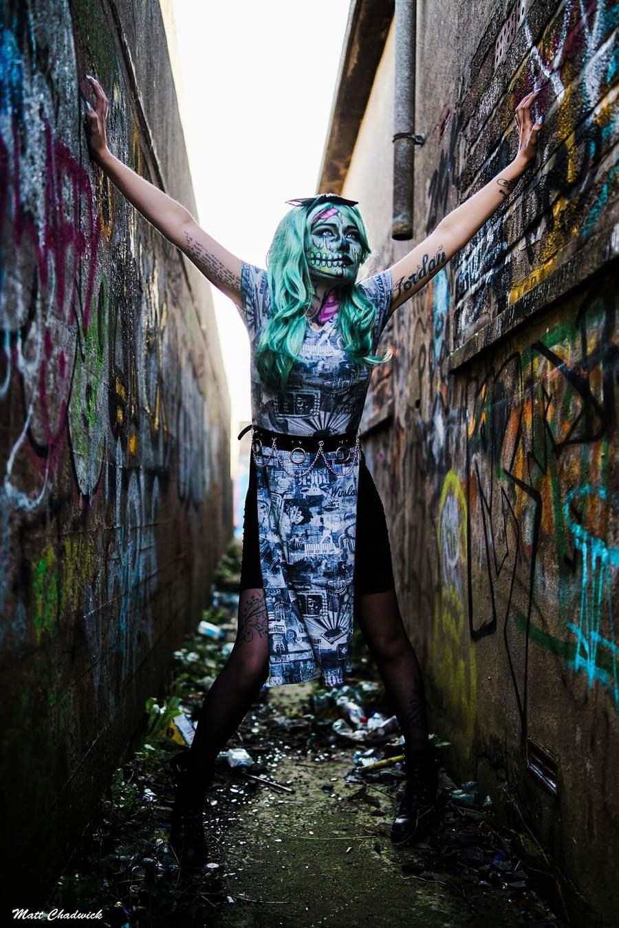 Photography by Matt Chadwick, Model Kelly Austin, Makeup by Kelly Austin Mua / Uploaded 31st October 2019 @ 08:20 AM