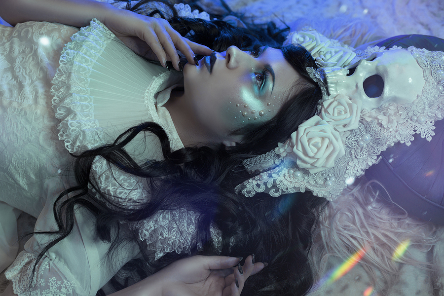 Winter Passing / Photography by malimora, Model Laura Moriarty, Makeup by Electra Creative, Post processing by malimora, Stylist malimora, Taken at malimora, Hair styling by Laura Moriarty / Uploaded 9th December 2019 @ 09:22 PM