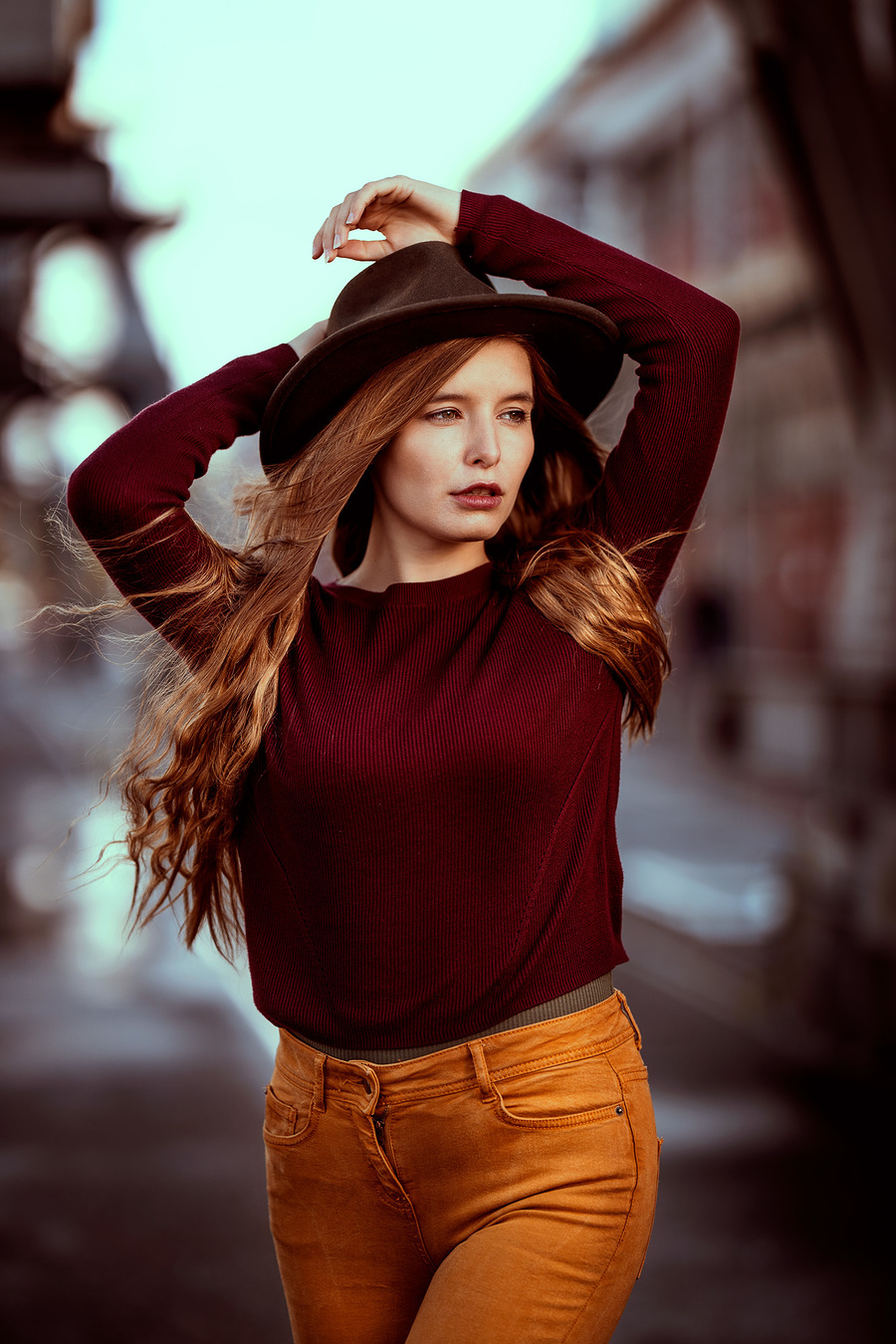 """""""Fell in love with a country girl, morning sunshine"""" / Photography by Raj K, Model Jade Lyon / Uploaded 15th November 2019 @ 08:34 PM"""