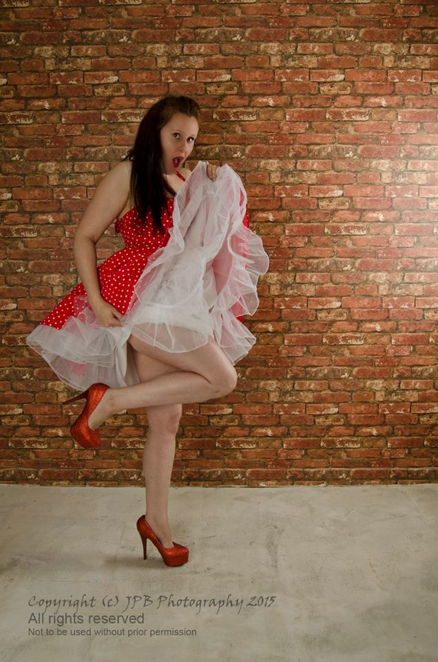 redshoe pinup / Photography by jpbphotography, Model Redshoes, Post processing by jpbphotography, Taken at Dolphin Studios / Uploaded 12th February 2016 @ 06:52 PM