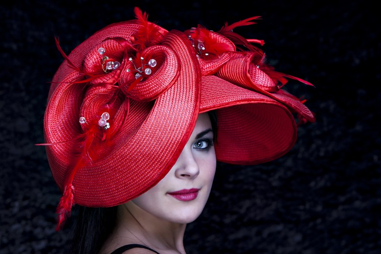 Red hat for Ascot / Photography by Dan, Makeup by Kiran Mal / Uploaded 7th July 2012 @ 05:39 PM