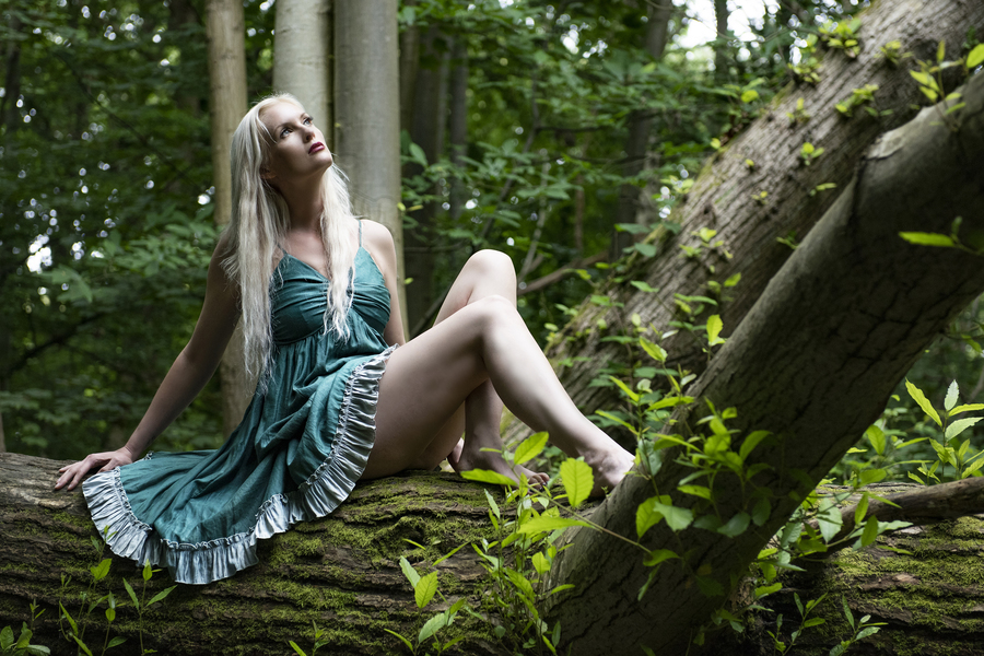 Mother nature  / Photography by Shane Finn, Model Hazel Holli / Uploaded 28th August 2021 @ 12:45 PM
