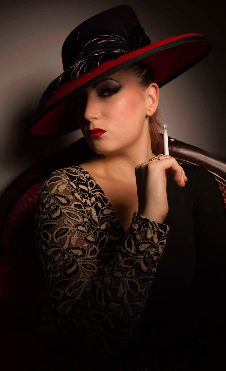 Seduction and Smoke / Photography by I M  A G E ~ I S ~ E V E R Y T H I N G, Model Alex Kelsey, Makeup by Alex Kelsey, Stylist Alex Kelsey / Uploaded 14th September 2015 @ 04:29 PM