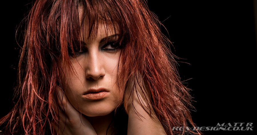 Hiding in Hair / Model Alex Kelsey, Makeup by Alex Kelsey / Uploaded 28th March 2015 @ 08:18 PM