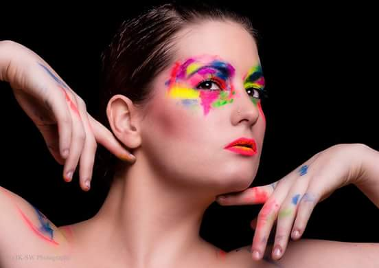 Colour Chaos / Model Alex Kelsey, Makeup by Alex Kelsey / Uploaded 6th June 2016 @ 02:46 AM