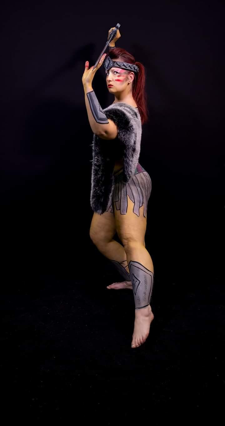 The Gladiator / Photography by Tony Cooney, Model Alex Kelsey, Artwork by Emma Painty Harvey / Uploaded 23rd January 2020 @ 10:39 PM