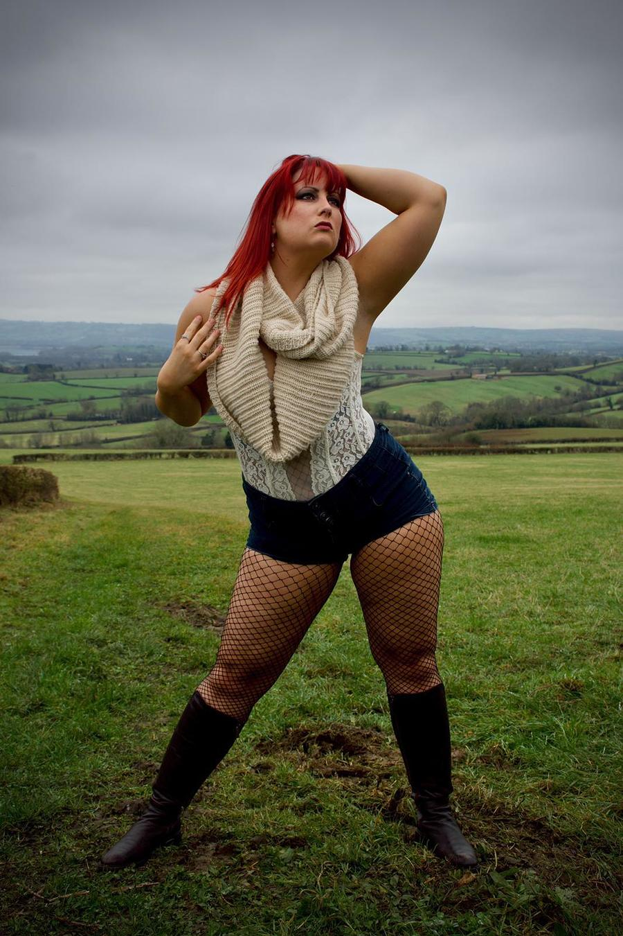 On a Lonely Hilltop / Photography by Riverstone Photography, Model Alex Kelsey, Makeup by Alex Kelsey / Uploaded 9th March 2020 @ 01:19 PM