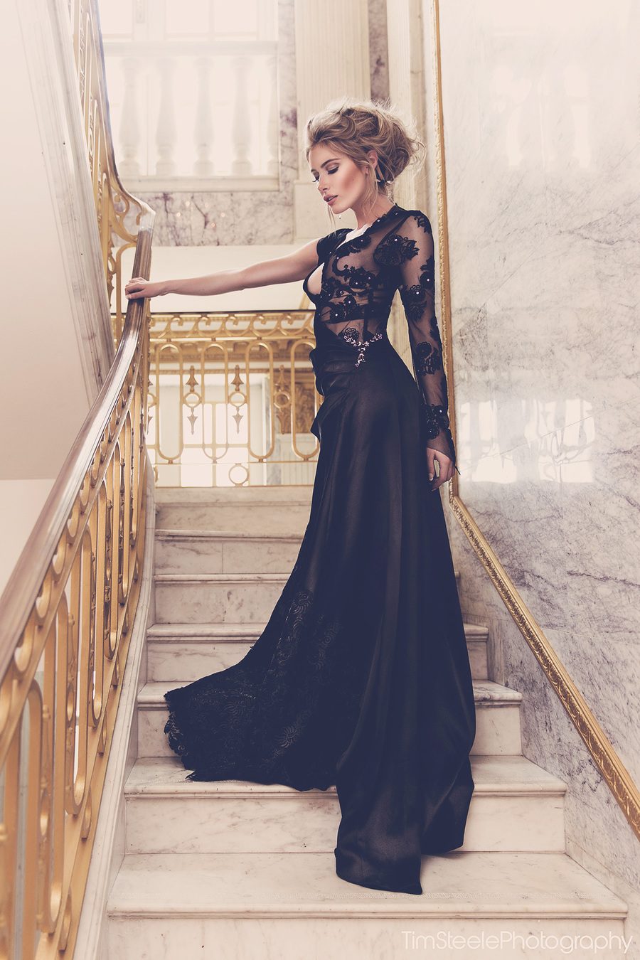 So elegant... / Photography by Tim Steele Photography, Model *V* / Uploaded 27th July 2014 @ 05:10 PM