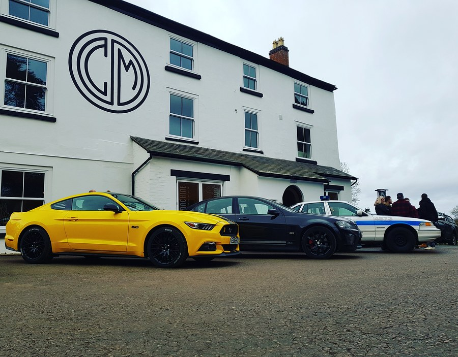 3 V8 yanks at the UK's favorite car cafe 👌 / Photography by ThePetrolHead / Uploaded 18th January 2019 @ 08:23 AM