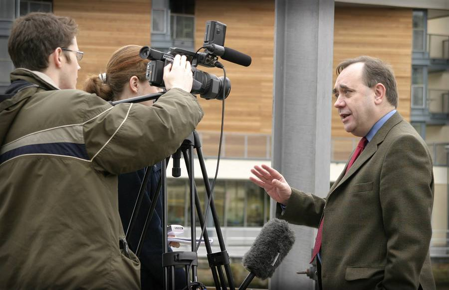MSP Alex Salmond (taken 2003) / Photography by Peter1970 / Uploaded 21st February 2019 @ 01:40 AM