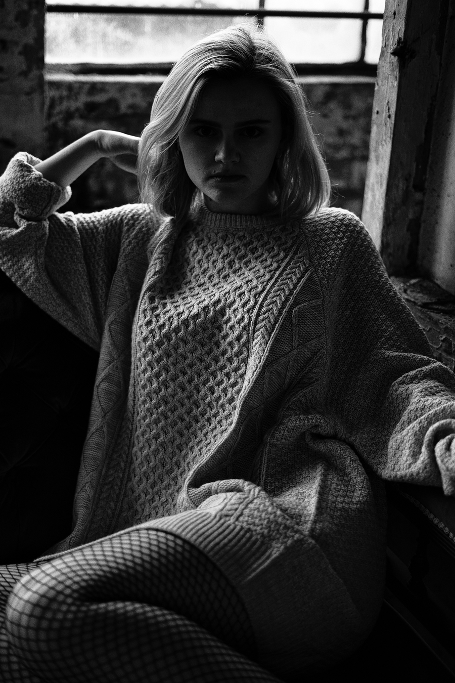 Moody B&W / Photography by Andrew Jones, Model HannahRose, Post processing by Andrew Jones / Uploaded 28th October 2019 @ 10:46 AM