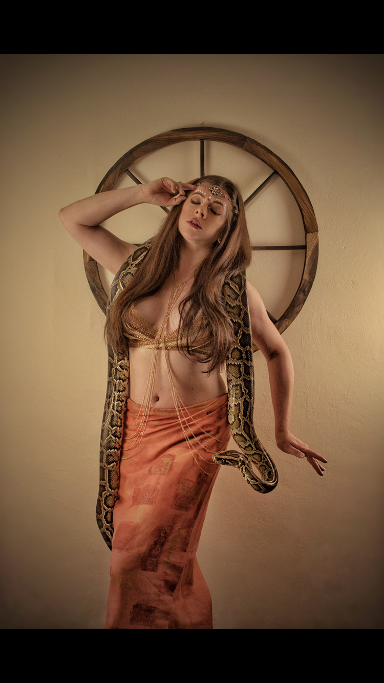 Serpent queen / Photography by Rhianna Grey, Model Rhianna Grey, Makeup by Rhianna Grey, Stylist Rhianna Grey, Hair styling by Rhianna Grey, Designer Rhianna Grey / Uploaded 29th July 2020 @ 09:20 AM