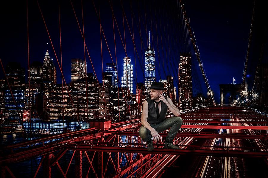 #Skyline... (LensGirl Manhattan Lockdown Edit) / Photography by Fotostrobe, Model DannyBoy1, Post processing by LensGirl / Uploaded 23rd May 2020 @ 06:18 PM