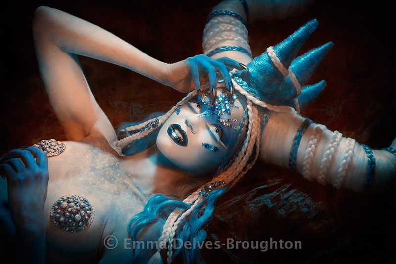 Perpetua / Photography by Emma Delves-Broughton, Model ChantalBeare, Makeup by Emma Delves-Broughton, Post processing by Emma Delves-Broughton, Stylist Emma Delves-Broughton, Taken at Emma Delves-Broughton, Hair styling by Emma Delves-Broughton, Designer Emma Delves-Broughton / Uploaded 5th November 2018 @ 02:04 PM