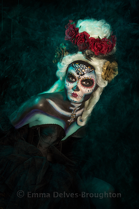 Day of the Dead / Photography by Emma Delves-Broughton, Makeup by Emma Delves-Broughton, Post processing by Emma Delves-Broughton, Stylist Emma Delves-Broughton, Taken at Emma Delves-Broughton, Hair styling by Emma Delves-Broughton / Uploaded 5th November 2018 @ 02:04 PM