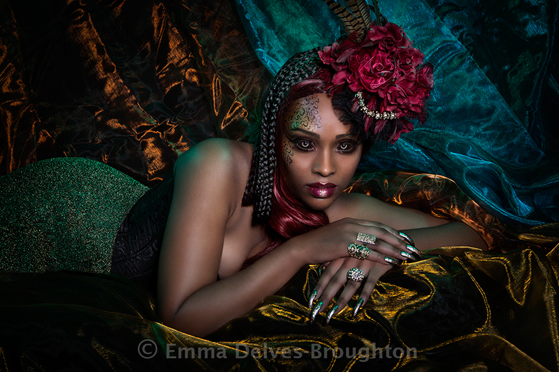 Diantha / Photography by Emma Delves-Broughton, Makeup by Emma Delves-Broughton, Post processing by Emma Delves-Broughton, Stylist Emma Delves-Broughton, Hair styling by Emma Delves-Broughton / Uploaded 18th January 2019 @ 12:43 PM