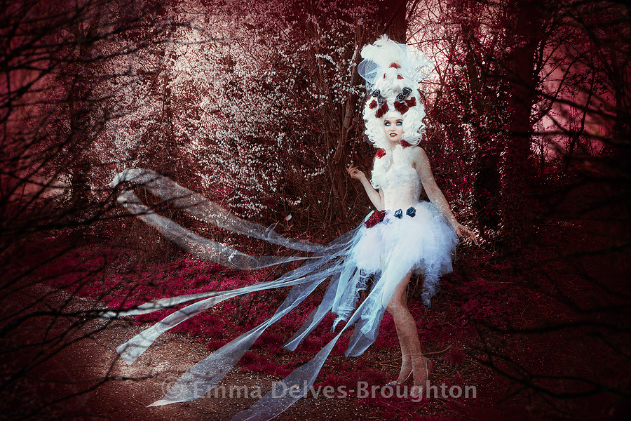 Ghost / Photography by Emma Delves-Broughton, Makeup by Emma Delves-Broughton, Post processing by Emma Delves-Broughton, Stylist Emma Delves-Broughton, Artwork by Emma Delves-Broughton / Uploaded 29th February 2020 @ 05:39 PM