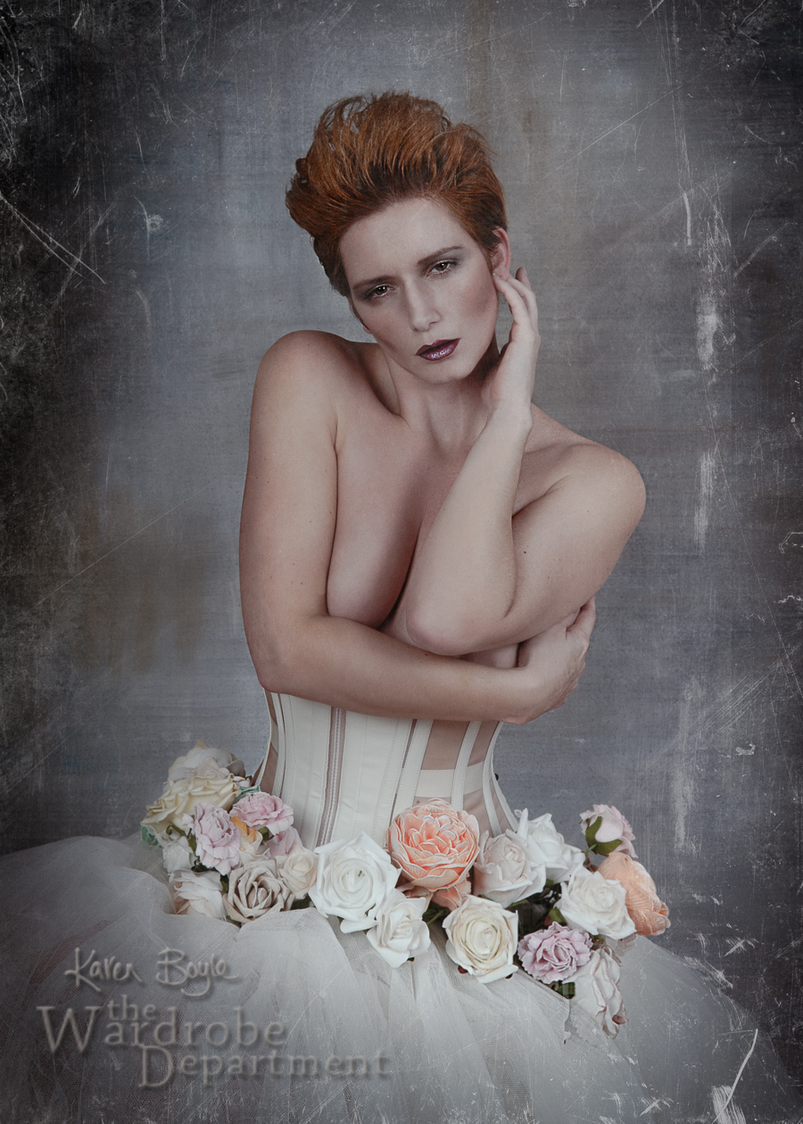 Never crave the rose / Photography by The Wardrobe Department, Model Stephanie Dubois, Makeup by The Wardrobe Department, Taken at The Wardrobe Department, Designer The Wardrobe Department / Uploaded 19th November 2014 @ 06:00 PM