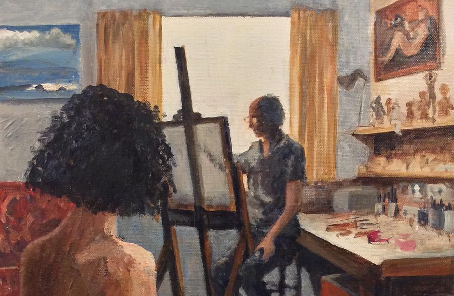 in the studio / Models tigerbelle, Models tyke, Artwork by tyke / Uploaded 24th October 2019 @ 03:15 PM