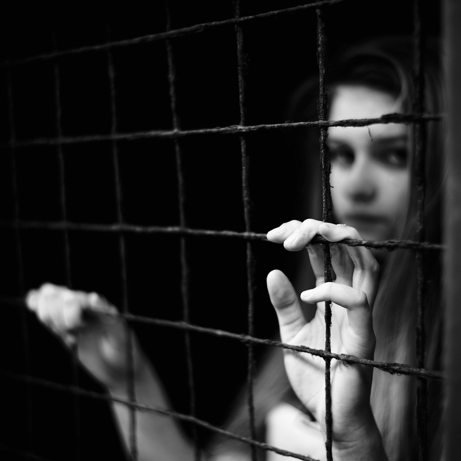 Caged Up / Photography by pigpogm, Model Tianna Northway / Uploaded 2nd April 2019 @ 09:38 PM