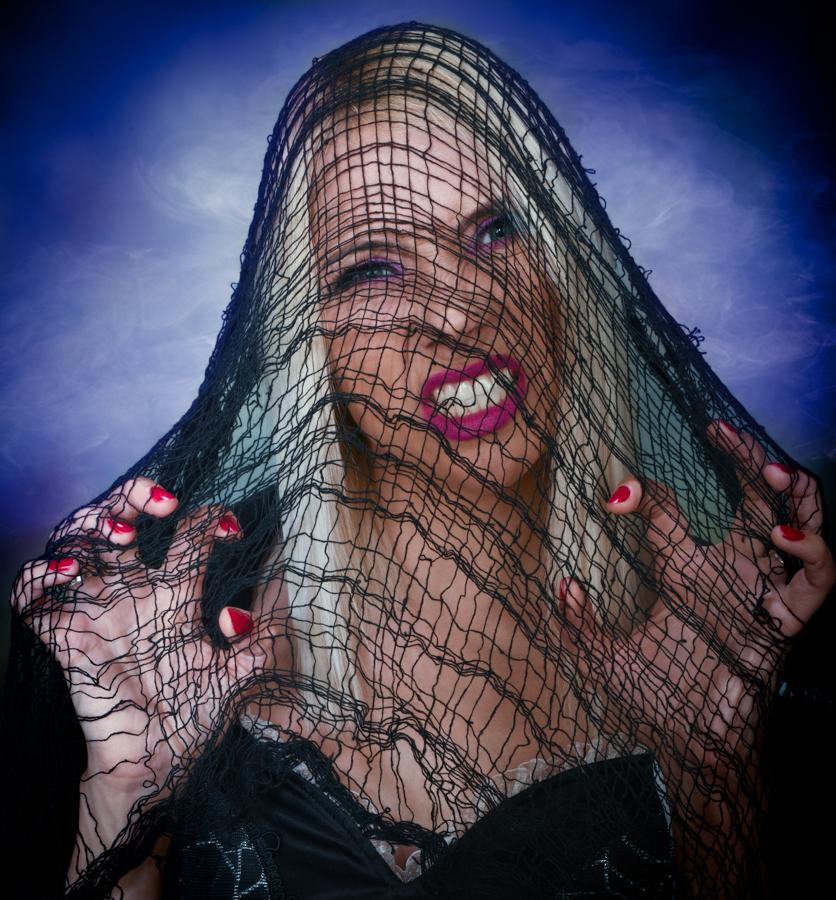 The Black Widow... / Photography by Rik Richardson, Model Bobbin, Stylist Rik Richardson, Taken at prpstudios / Uploaded 31st October 2020 @ 12:55 PM