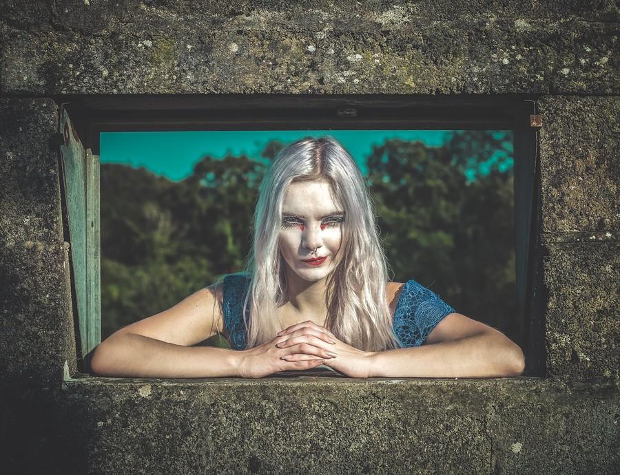 Oh, hey there / Photography by Iris Ferret, Model Rune (chibirune) / Uploaded 29th November 2019 @ 12:57 PM