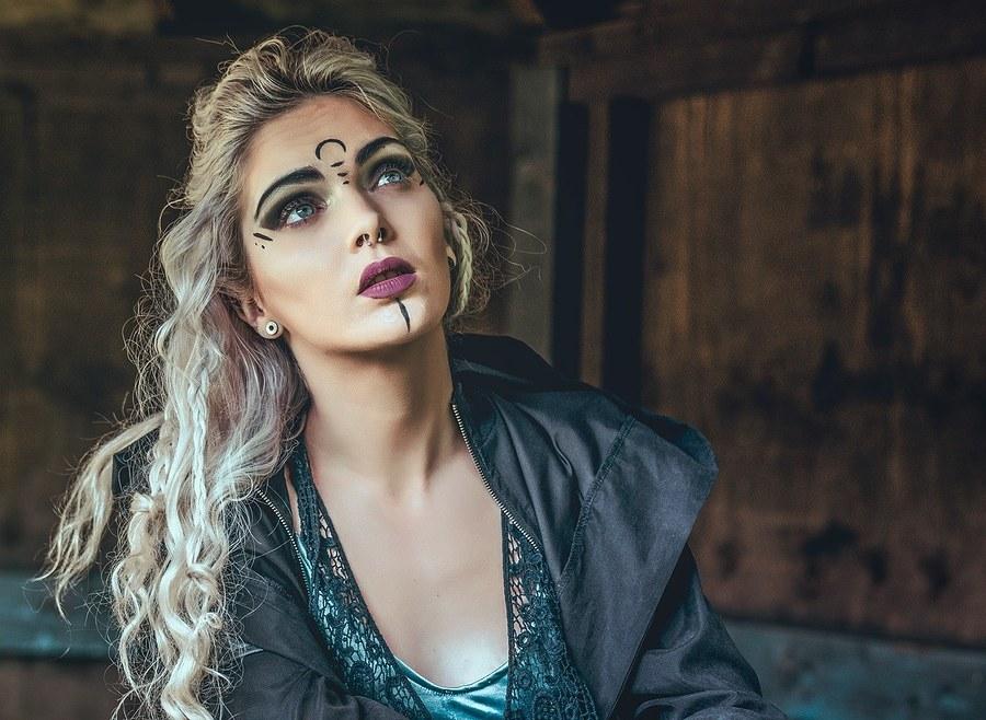 Time for war / Photography by Matthew Jones, Model Rune (chibirune), Makeup by velvet rose  MUA / Uploaded 15th February 2020 @ 03:03 PM