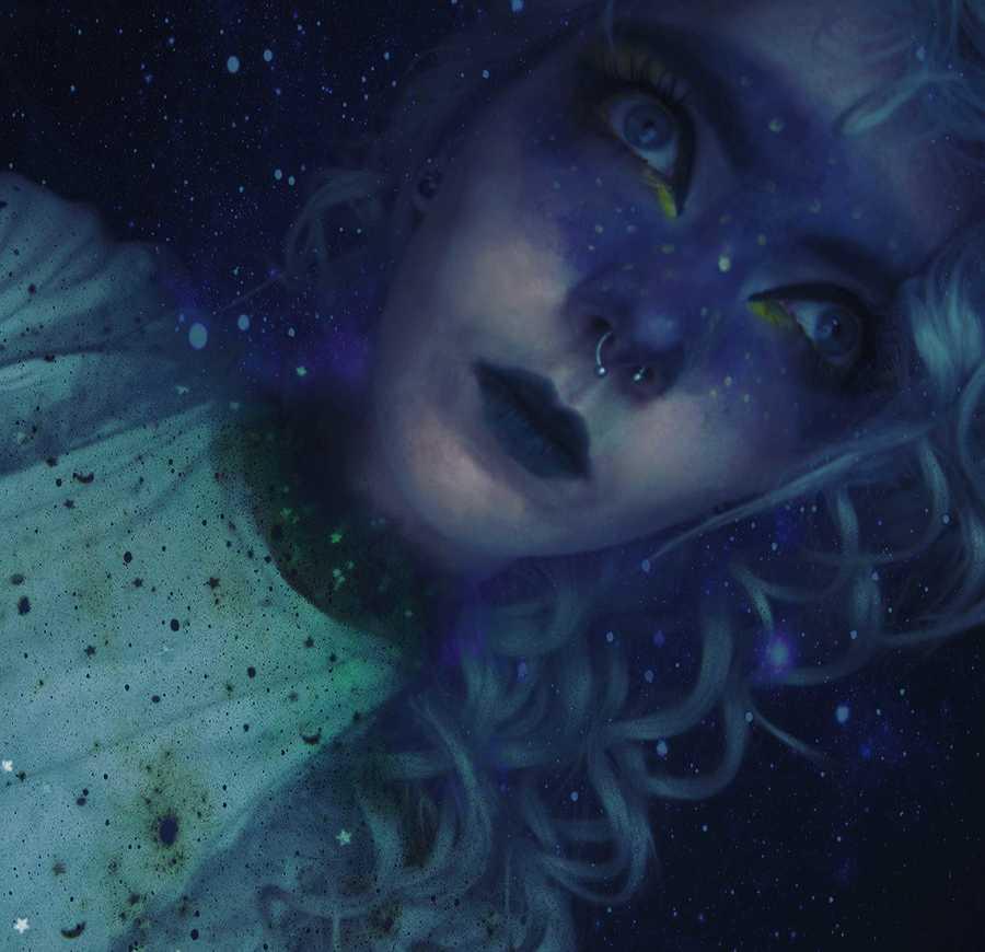galaxy edit / Photography by Rune (chibirune), Model Rune (chibirune), Post processing by Rune (chibirune) / Uploaded 3rd June 2020 @ 12:14 PM