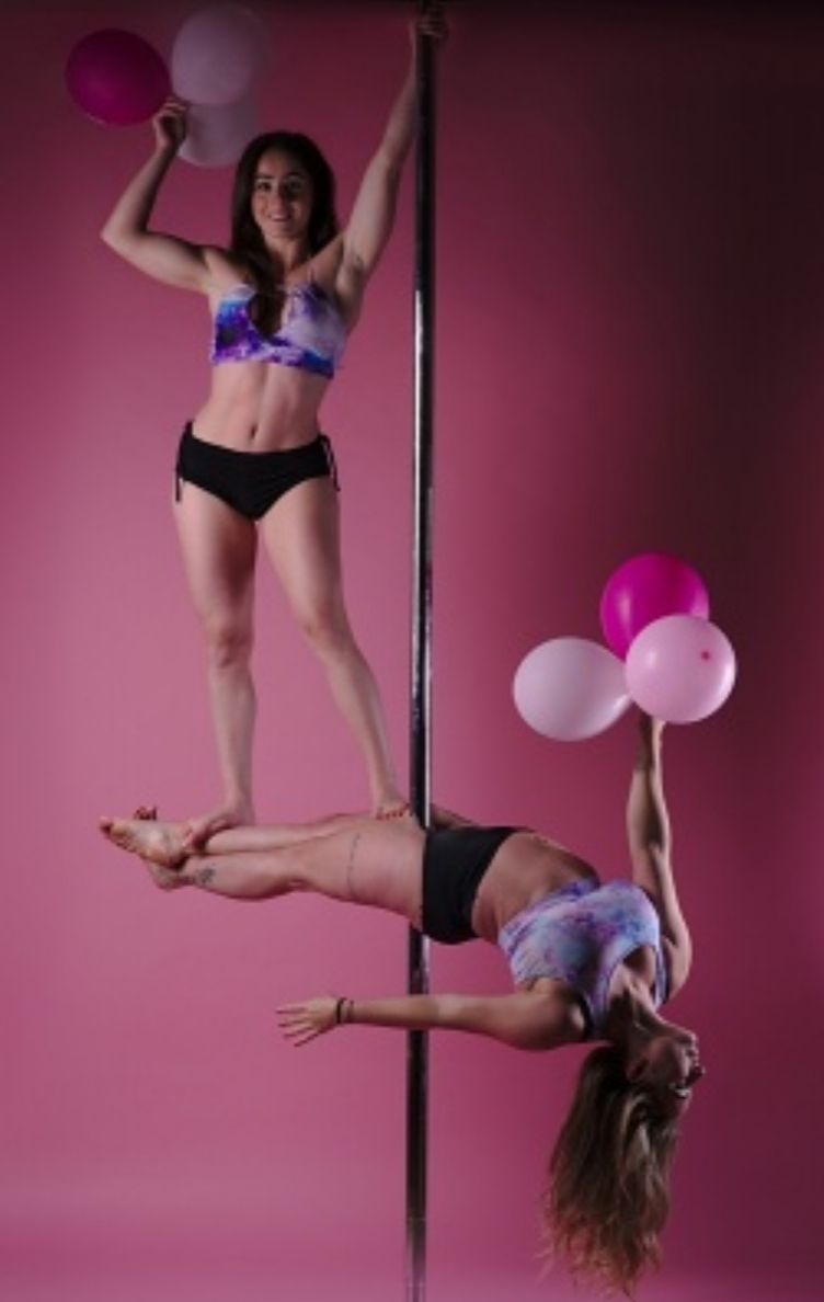 Pole doubles / Photography by WatkinsPhoto, Models Clairesavannah, Models Pole_Fit_Chick / Uploaded 30th June 2019 @ 11:44 PM