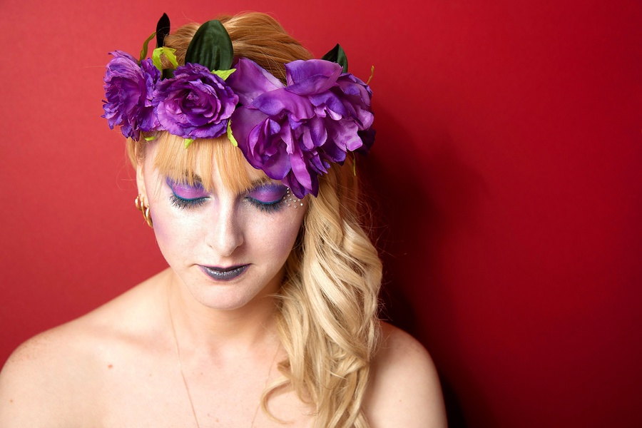 Purple / Photography by The Pix Factory, Makeup by Heather Akerman MUA / Uploaded 24th April 2014 @ 08:39 PM