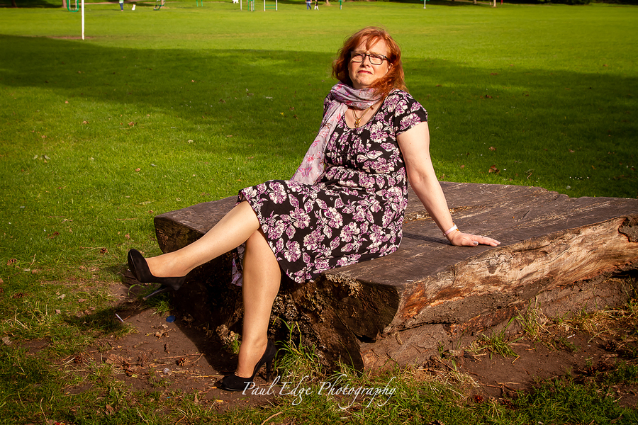 Sat on the log / Photography by Paul edge, Model WrexhamModel, Post processing by Paul edge / Uploaded 31st July 2020 @ 09:19 PM
