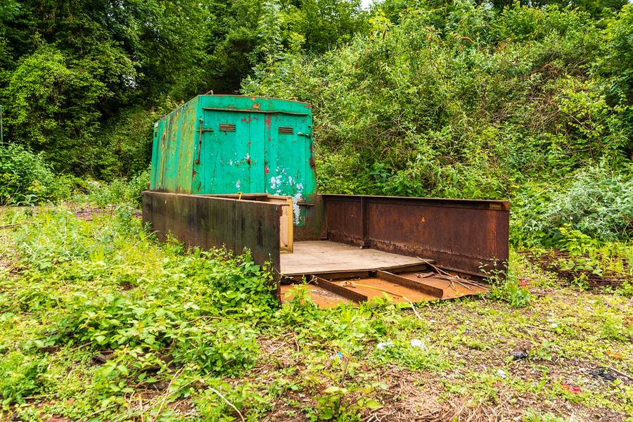 The abandoned barge / Photography by Nick Skinner, Taken at Embankment Studio / Uploaded 10th June 2019 @ 10:30 AM