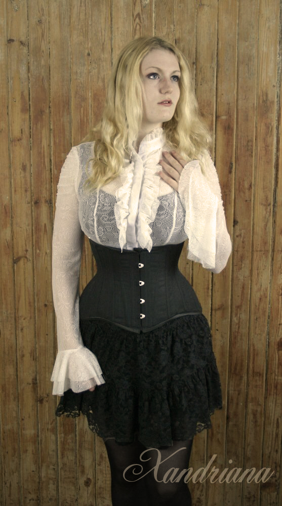 Simple Waist Training Corset / Photography by Xandriana, Designer Xandriana / Uploaded 20th July 2013 @ 01:14 PM